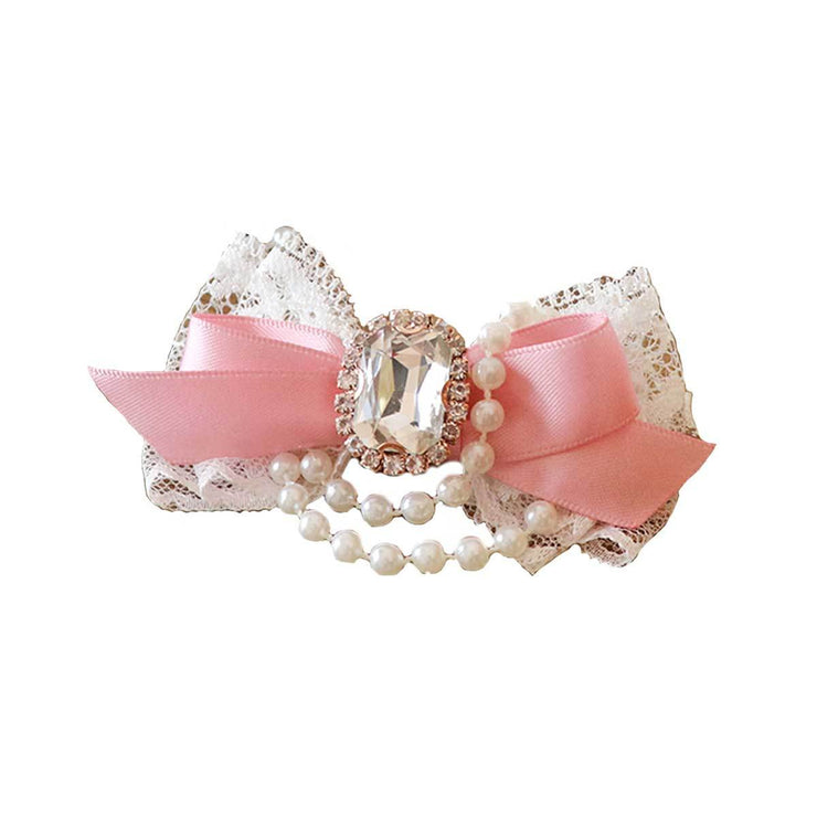 Princess for A Day Dog Hair Bow in Pink | Pawlicious & Company