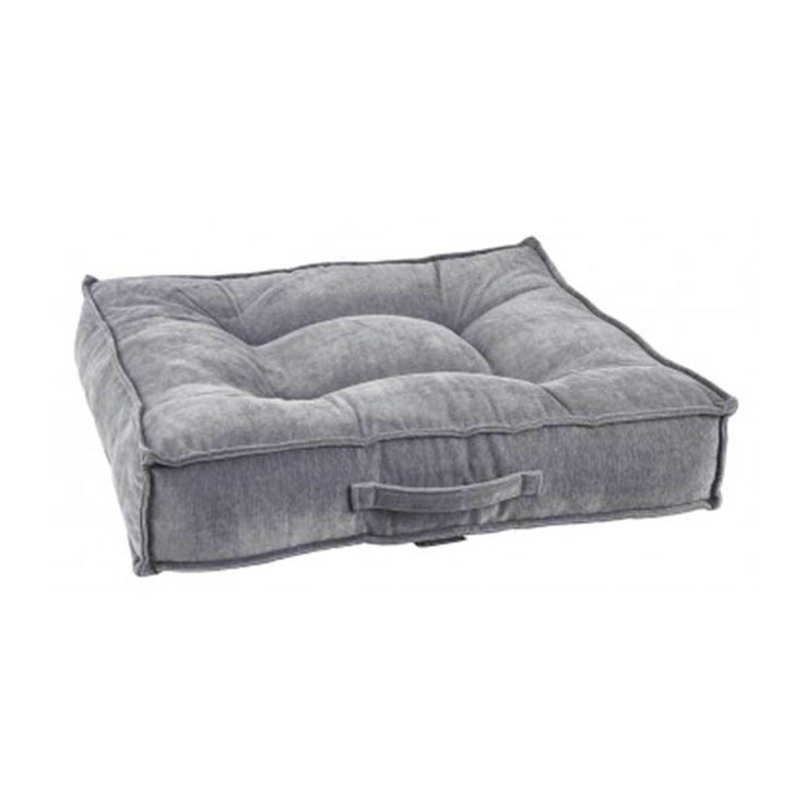 Piazza Square Dog Bed in Pumice | Pawlicious & Company