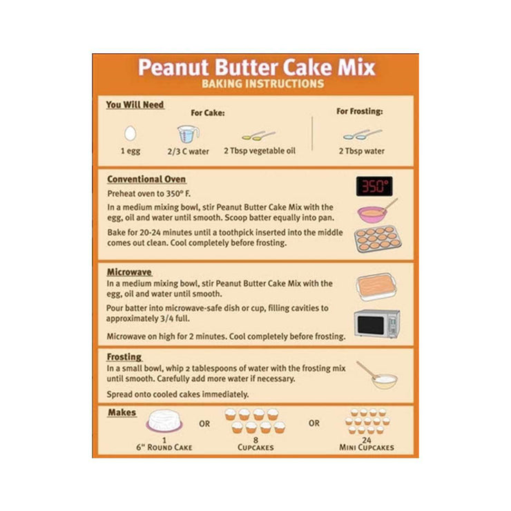 Puppy Cake & Frosting Mix - Peanut Butter (Wheat Free) | Pawlicious & Company