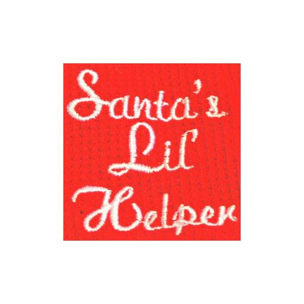 Red Santa's Lil Helper Dog Pajama | Pawlicious & Company