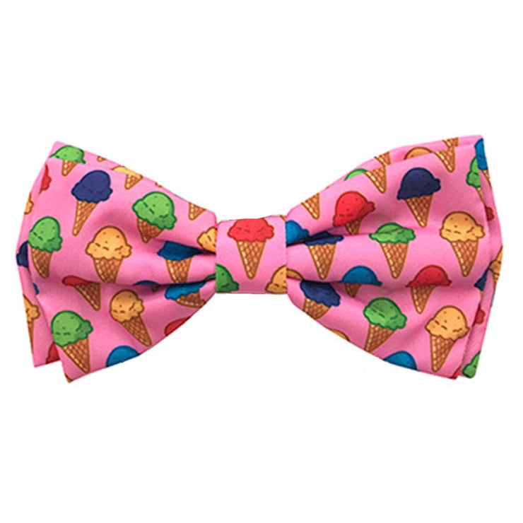 Single Scoop Dog Collar Bow Tie | Pawlicious & Company