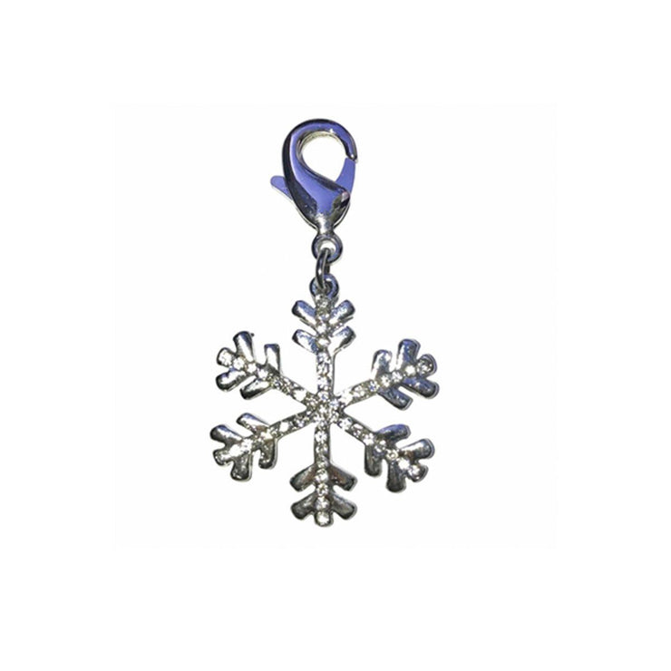 Snow Flake Dog Collar Charm | Pawlicious & Company
