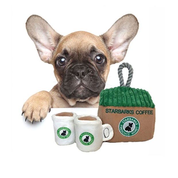 Starbarks Coffee House Interactive Dog Toy