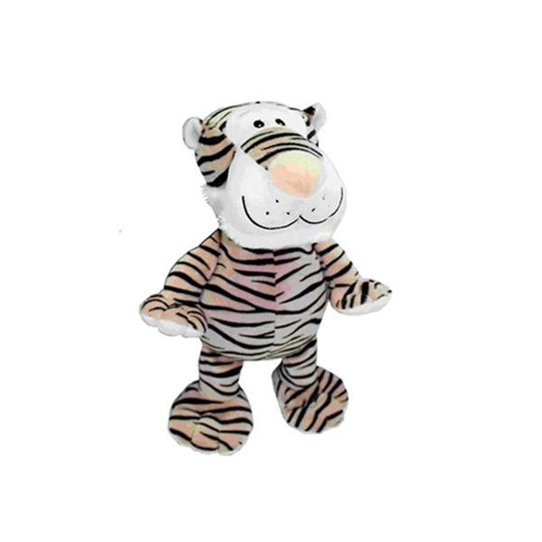Tiger Plush Dog Toy | Pawlicious & Company