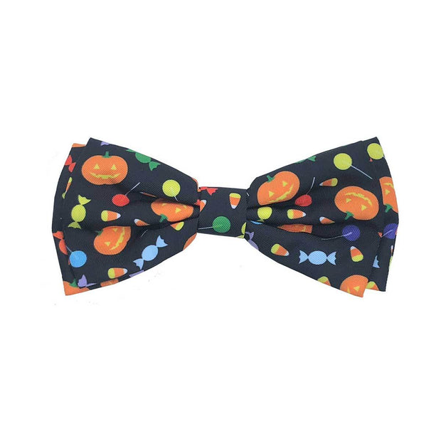 Trick or Treat Dog Collar Bow Tie