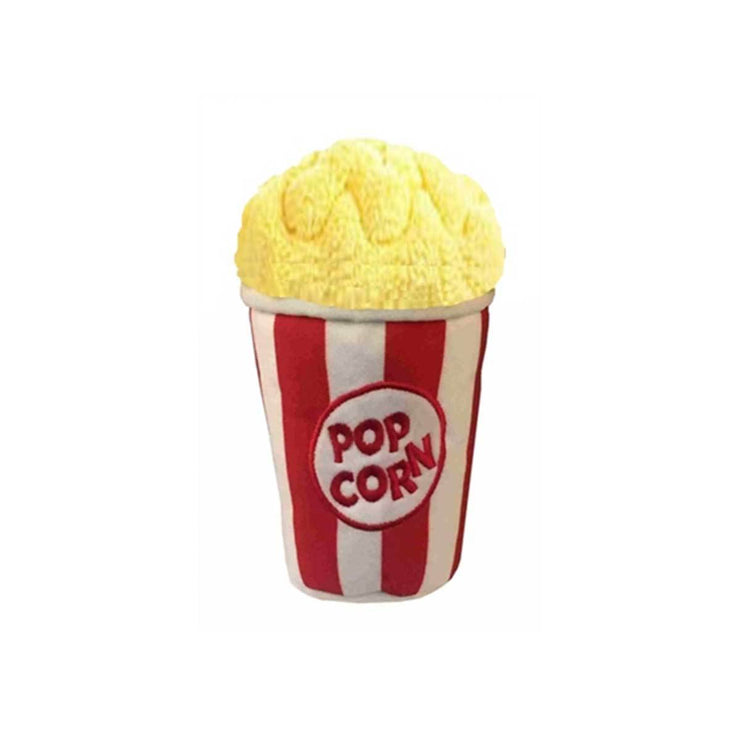 Tub of Popcorn Plush Dog Toy | Pawlicious & Company