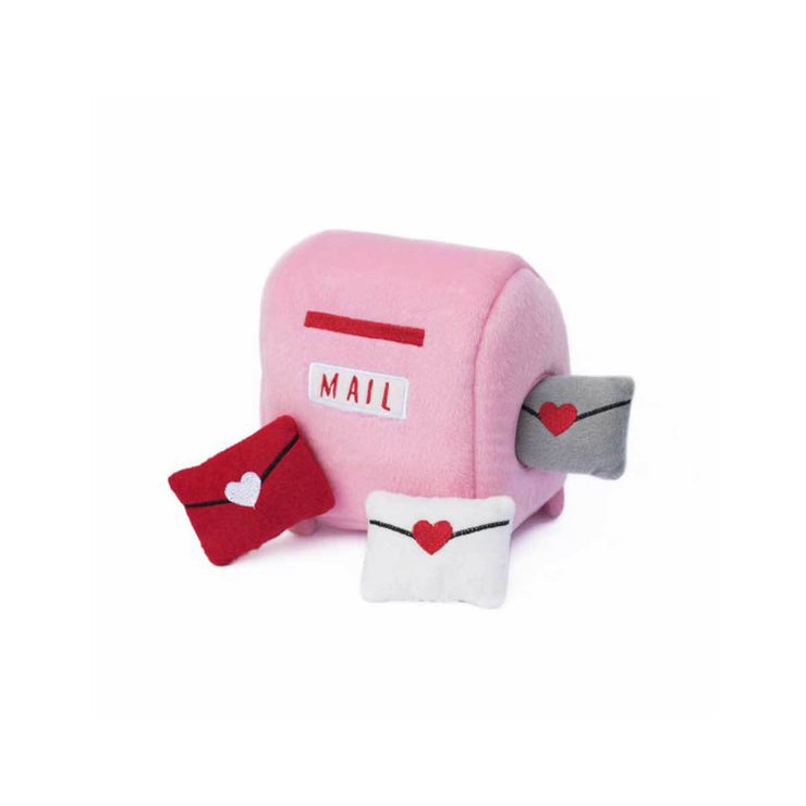 Valentines's Mailbox Burrow Puzzle Dog Toy | Pawlicious & Company