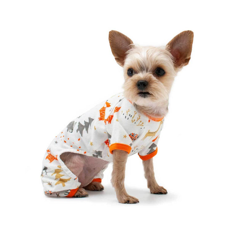 Winter Forest Dog Pajamas