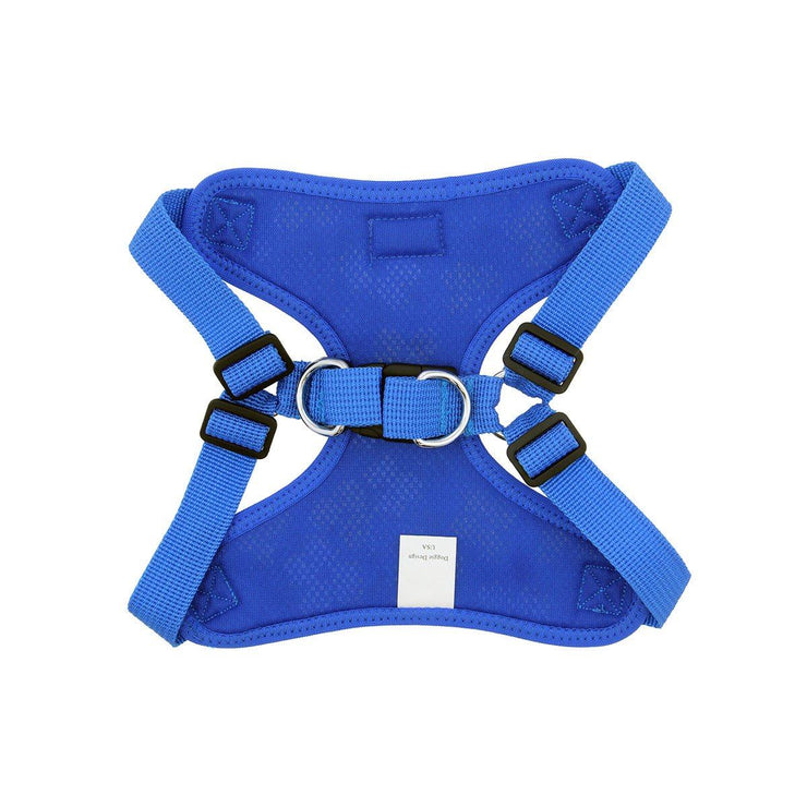 Wrap & Snap Choke Free Dog Harness in Cobalt Blue | Pawlicious & Company