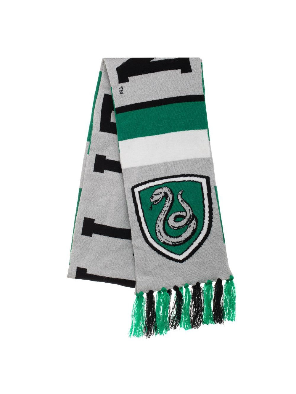 Harry Potter - Slytherin Big Stripe Acrylic Jacquard Scarf