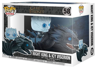 FUNKO POP! RIDES: Game of Thrones - Night King on Dragon