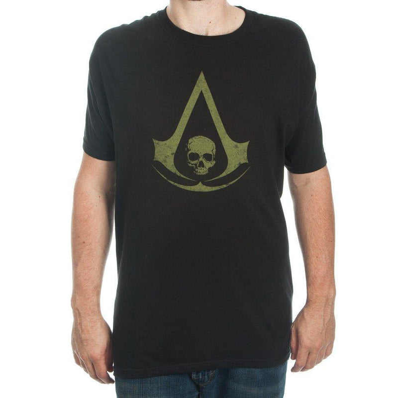 Assassin's Creed Logo Men's Black T-shirt