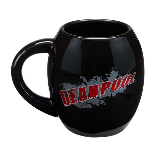 Marvel Deadpool 18 Oz. Oval Ceramic Mug