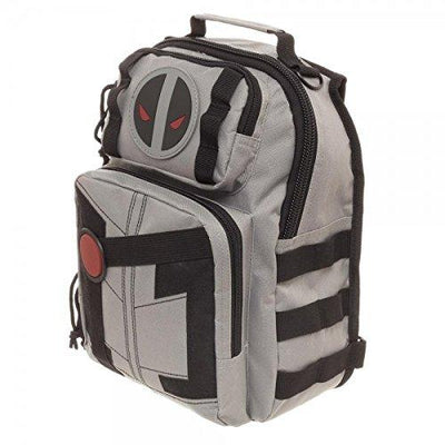 Bioworld Marvel Deadpool X-Force Mini Sling Backpack - 9.5 x 11 x 6.5 inch - Novelty Character Bags - Item #130032
