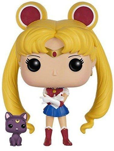 Sailor Moon - Sailor Moon With Luna
