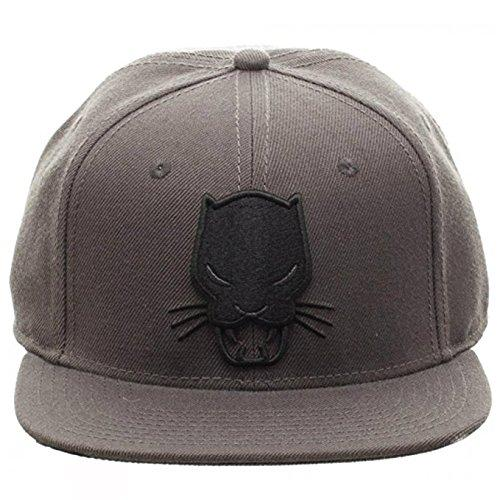 bioworld Marvel Comics Black Panther Grey Snapback