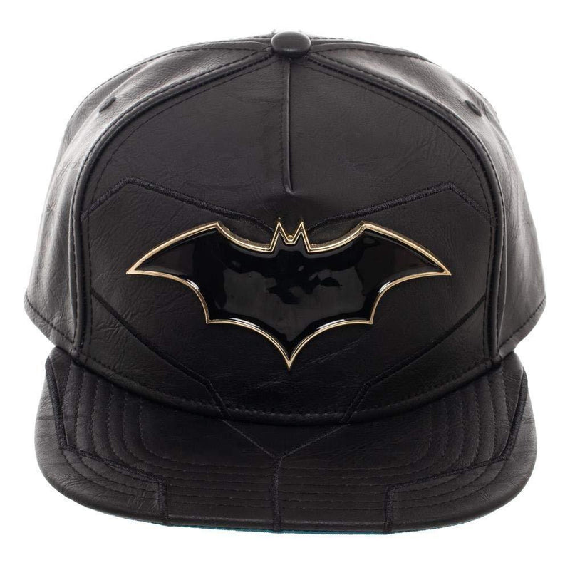 DC Comics Batman Rebirth Suit Up PU Leather Snapback Hat