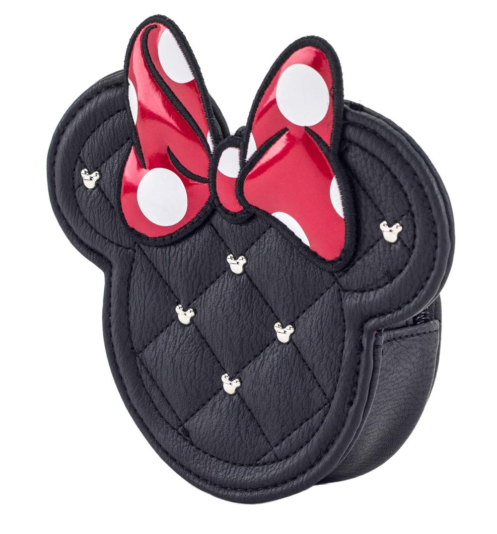 Loungefly x Disney Minnie Mouse Die Cut Quilted Coin Bag