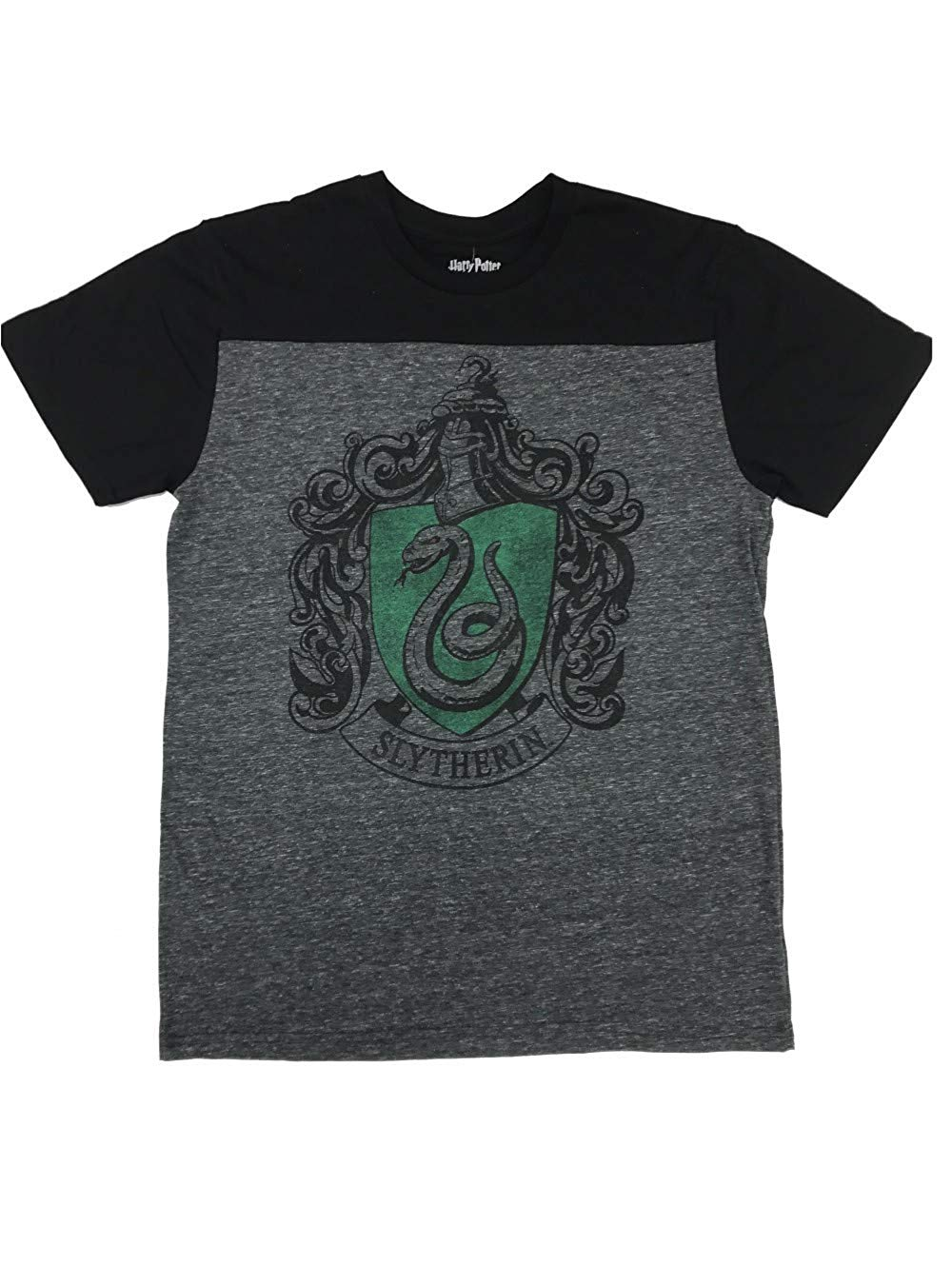 Harry Potter - Mens Slytherin Yoke TEE