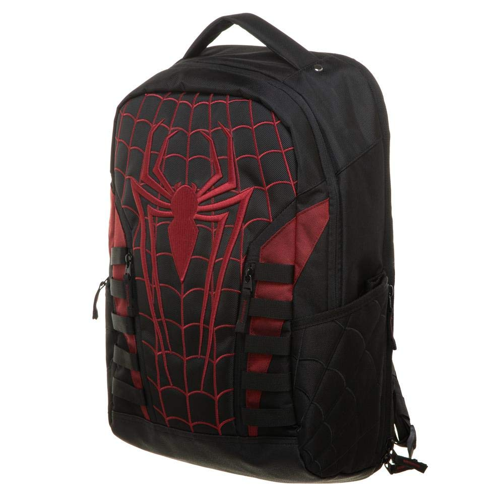 Marvel Universe - Spider-Man Miles Morales Into The Spider-Verse Built Up Backpack with Laptop Pocket