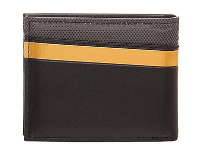 Star Trek Metal Logo and Gold Trim Bi-Fold Wallet