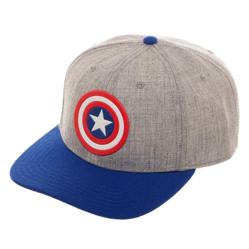 Marvel - Captain America Pre-Curved Bill Snapback Hat