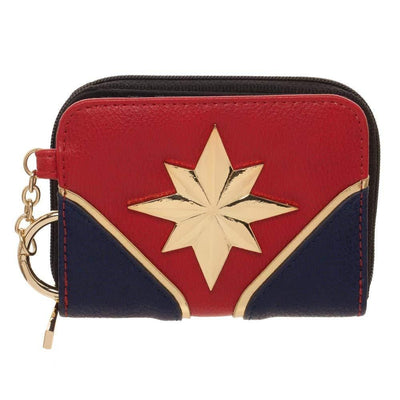 Marvel - Captain Marvel Mini Ladies Bifold Wallet with Keychain