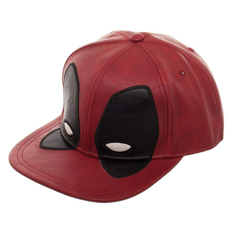 Marvel - Deadpool Big Face Faux Leather Snapback
