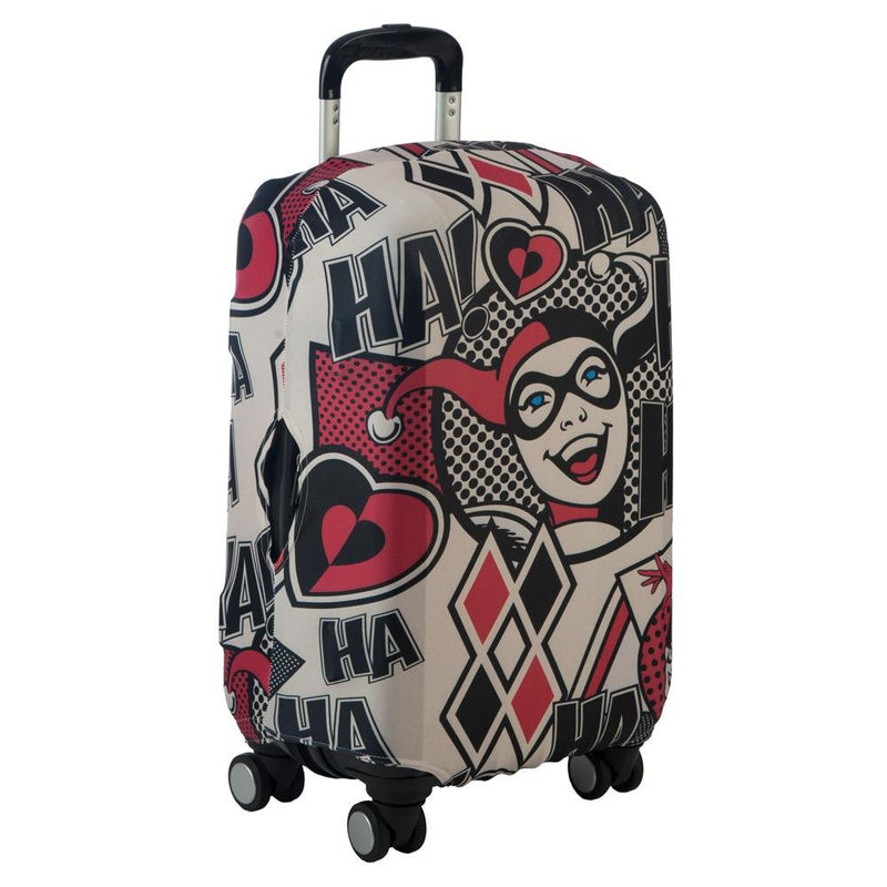 Bioworld Harley Quinn Luggage Cover DC Comic Accessories - Harley Quinn Accessories DC Comic Luggage Cover - Harley Quinn Gift