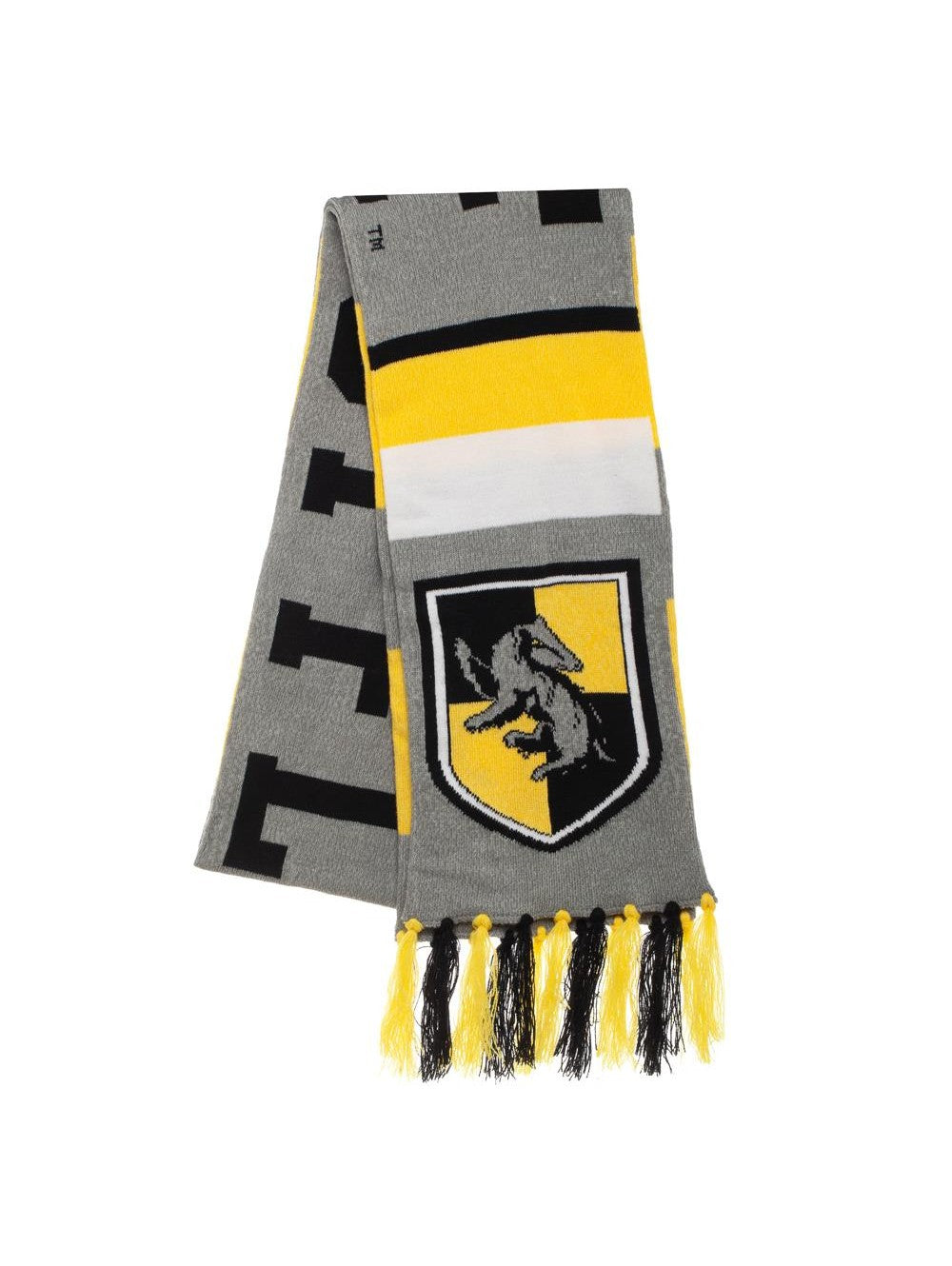 Harry Potter - Hufflepuff Big Stripe Acrylic Jacquard Scarf