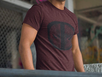 Marvel - Deadpool Mineral Wash MERC with a Mouth Men's Tee Bioworld T-Shirt