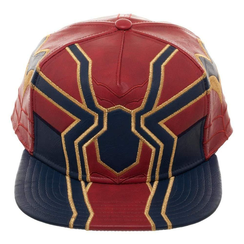 Marvel Avengers: Infinity War Spider Suit up PU Snapback Baseball Cap