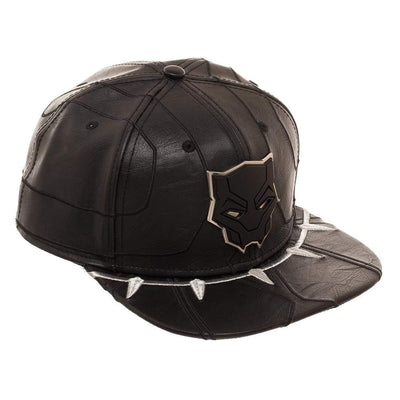 MARVEL Black Panther Suit Up Faux Leather Snapback Hat