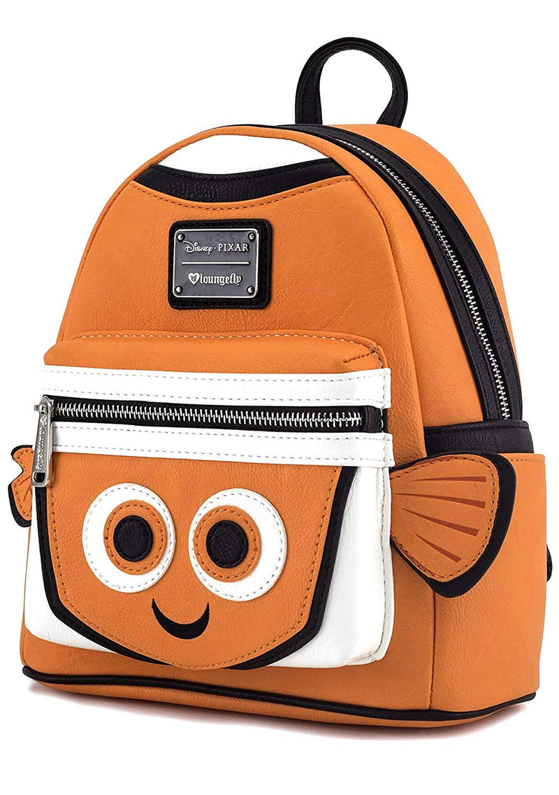 Loungefly Nemo Faux Leather Mini Backpack
