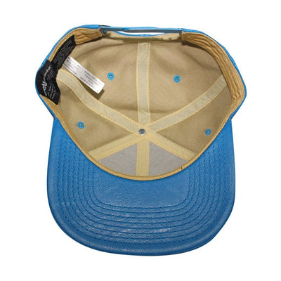 "Bioworld Men's Licensed Fallout ""111"" PU Leather Snapback Hat O/S Blue"