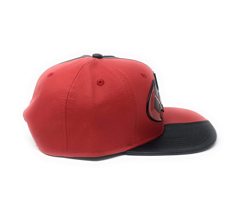 DC Comics - Harley Quinn vs Batman Faux Leather Snapback