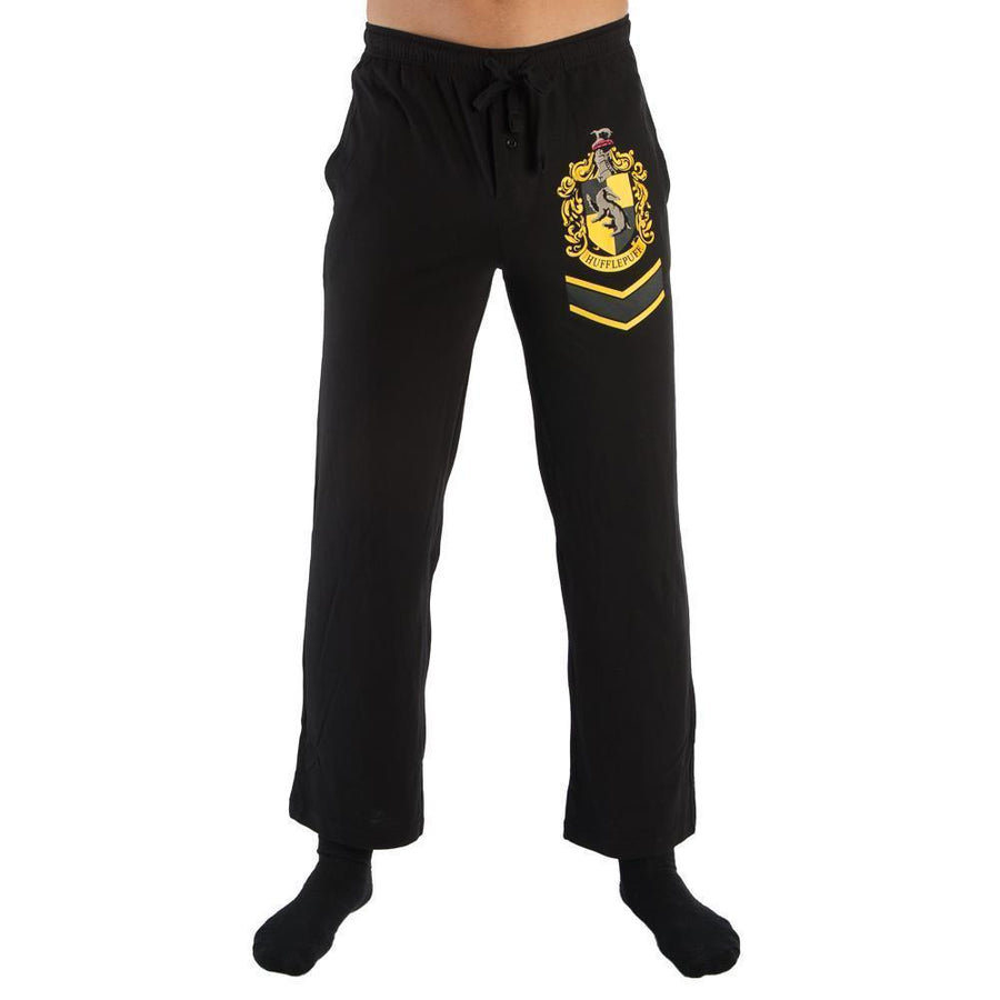 Harry Potter Hogwarts Hufflepuff Crest Sleep Lounge Pants