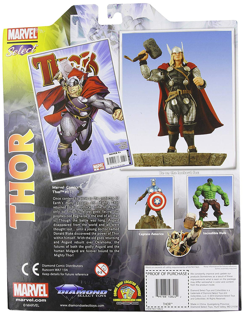 Diamond Select Toys OCT073173 Marvel Select Thor Action Figure