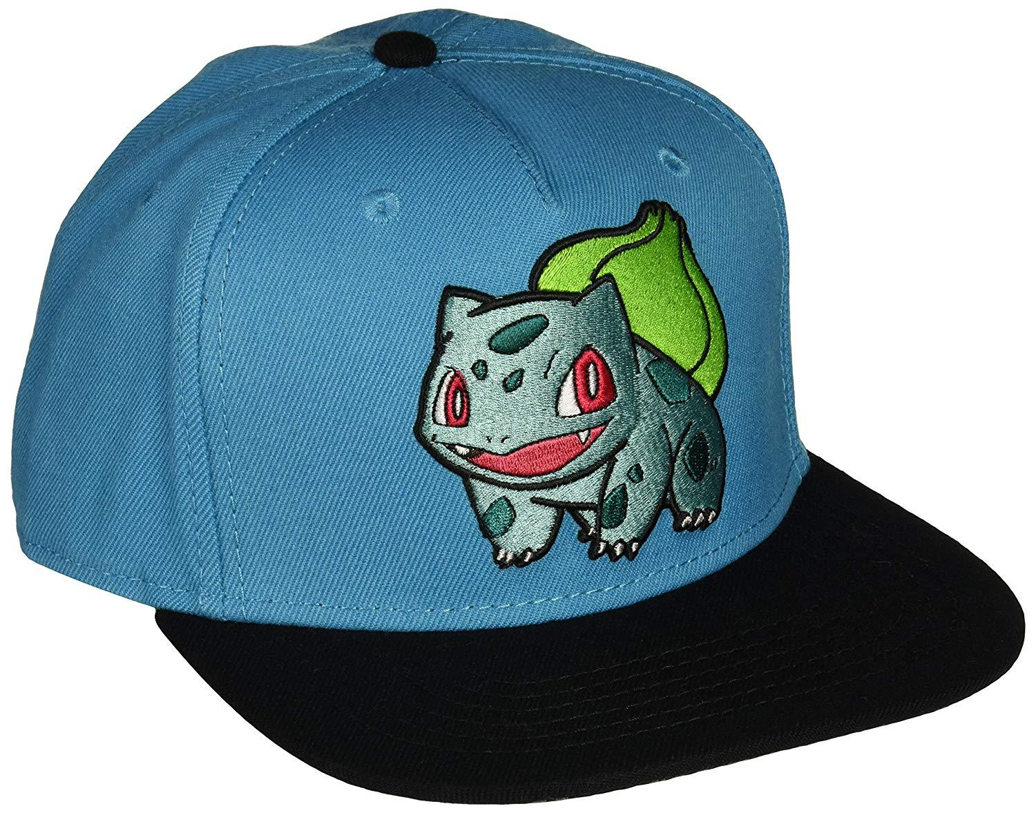 Pokemon - Bulbasaur Embroidered Blue Snapback