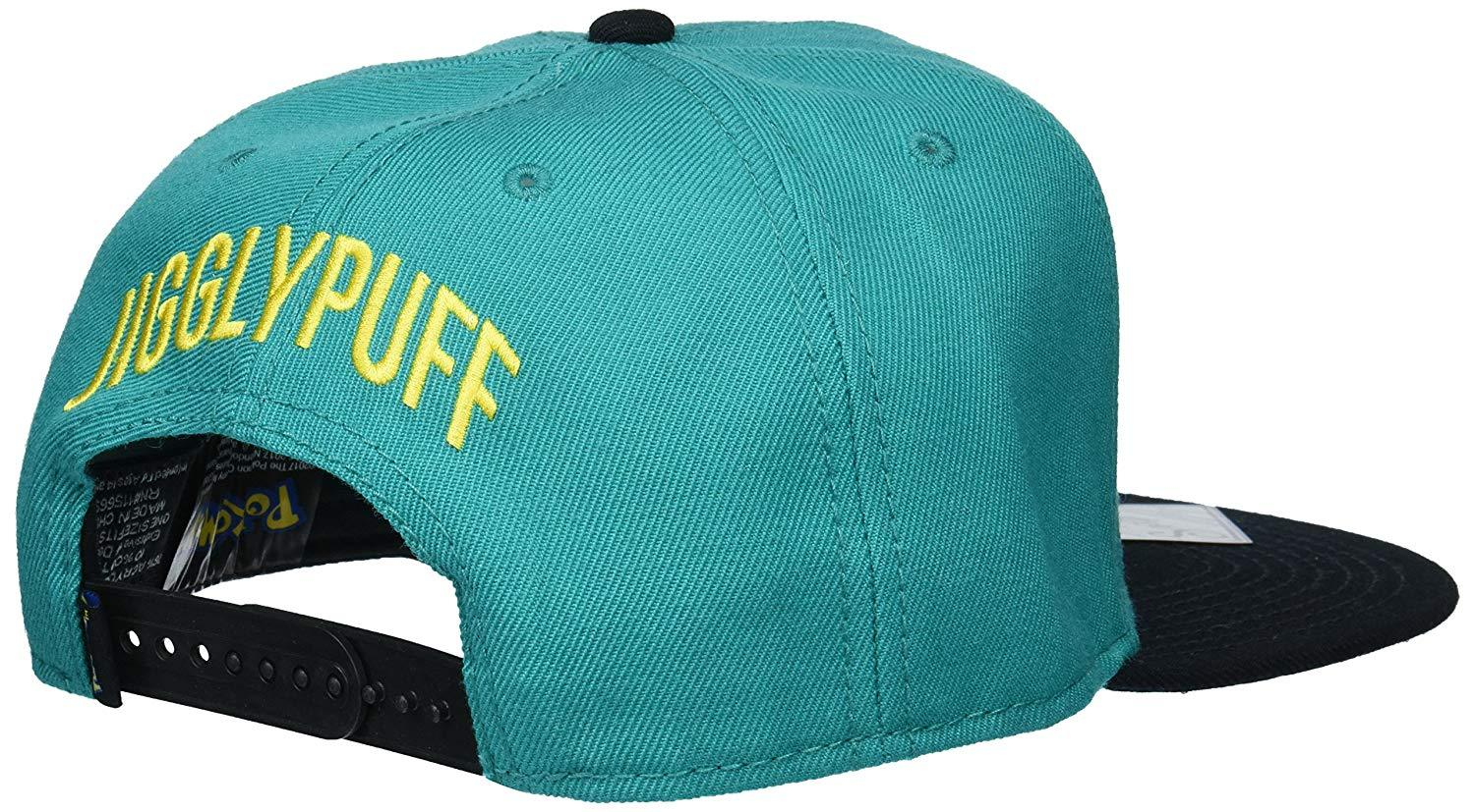 49a7f1a4f995db Pokemon - Jigglypuff Embroidered Turquoise Snapback - Dood Gear