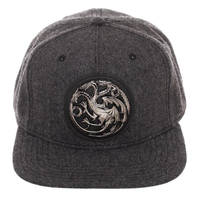 Game of Thrones - House Targaryen Grey Herringbone Snapback