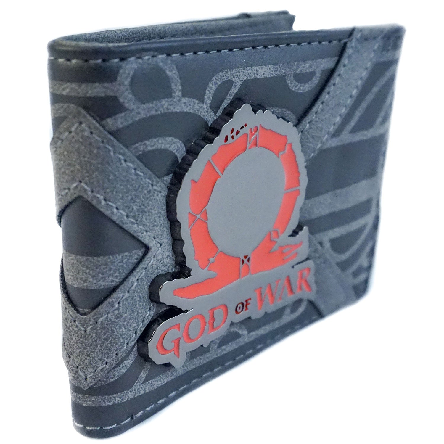 God of War - Grey Suede Bifold Wallet