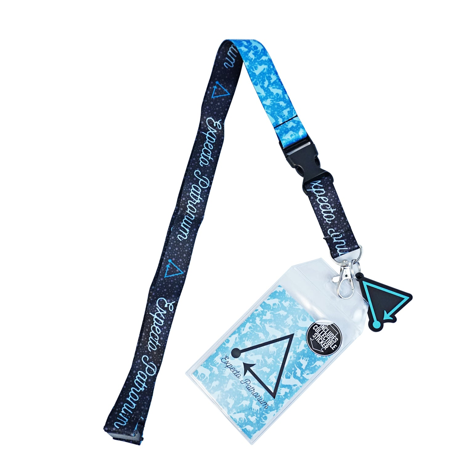 Harry Potter - Expecto Patronum Breakaway Lanyard with Charm and ID Holder