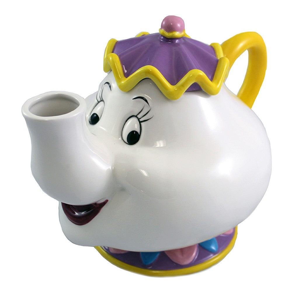Beauty and The Beast Mrs. Potts Ceramic Teapot