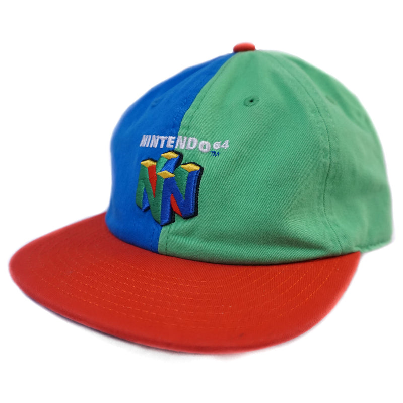 Nintendo - Classic Nintendo 64 Adjustable Hat