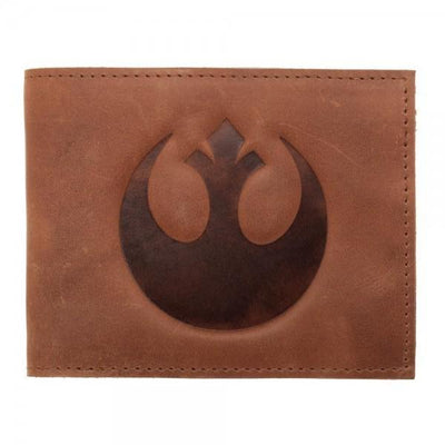 Star Wars Rebel Leather Bi-Fold Wallet - Dood Gear