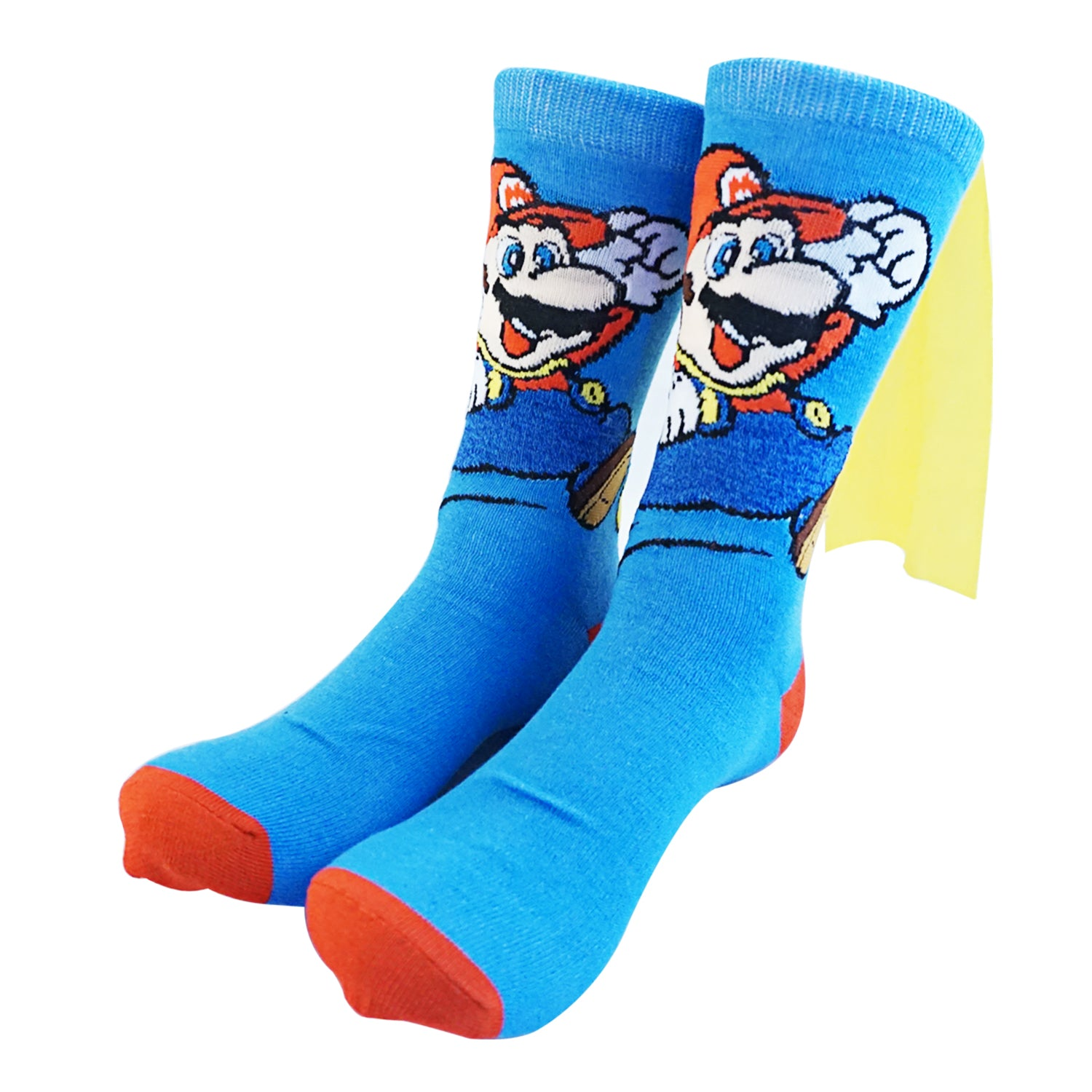 Super Mario - Blue Caped Mario Socks **NEW**