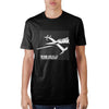 Cowboy Bebop Grid Black T-Shirt - Dood Gear