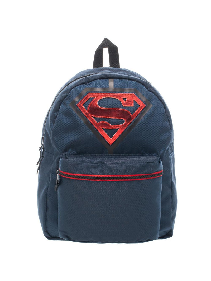 Superman Pocket Print Reversible Backpack
