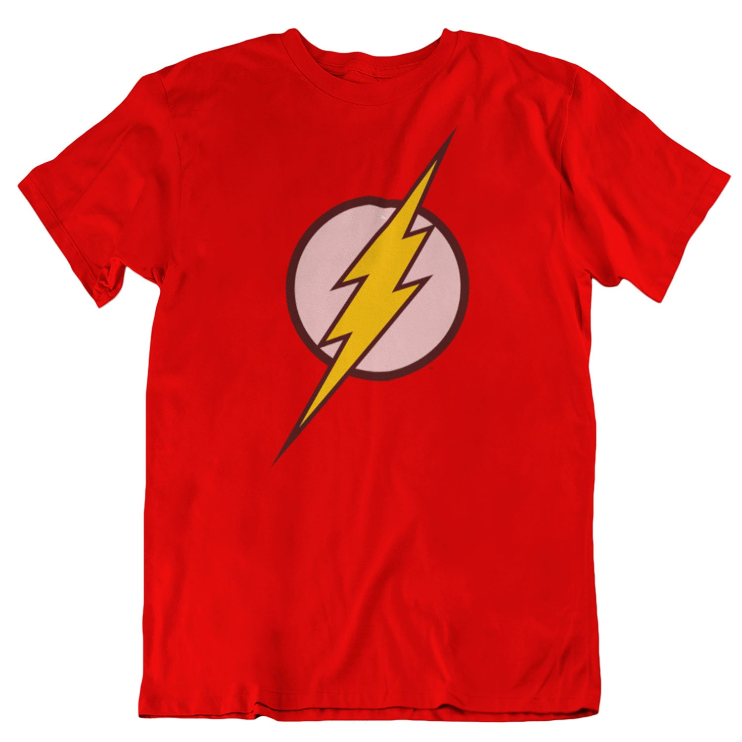 DC Comics - Officially Licensed Red Flash Logo T-Shirt